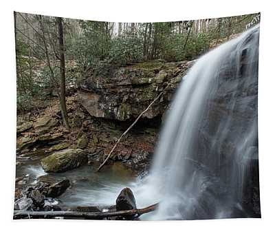 Lower Falls On Marr Branch Tapestry