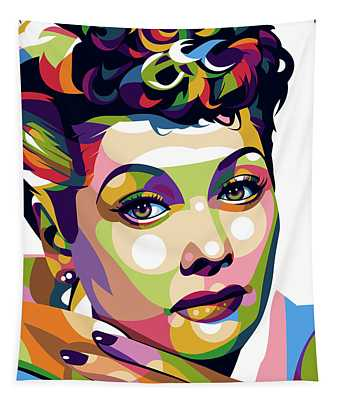 Lucille Ball Tapestry