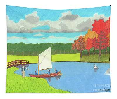 Testing The Waters Tapestry