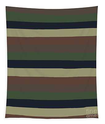 Army Color Style Lumpy Or Bumpy Lines - Qab279 Tapestry