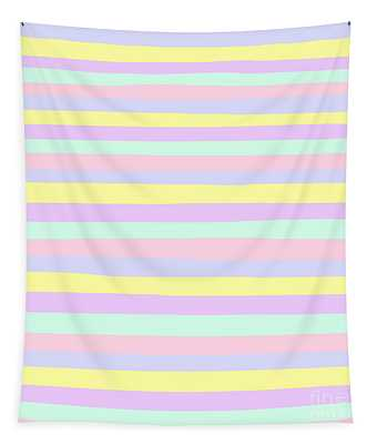 lumpy or bumpy lines abstract - QAB283 Tapestry