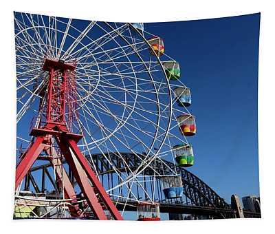 Luna Park, Sydney Australia Tapestry