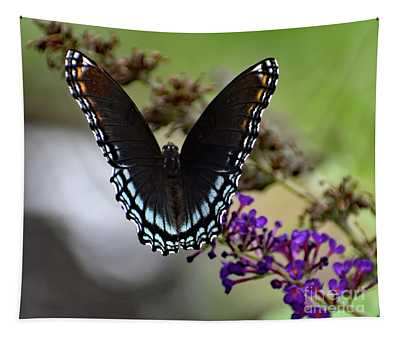 Luxurious Red-spotted Purple Tapestry