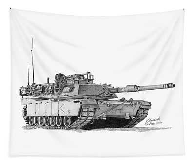 M1a1 D Company 2nd Platoon Tapestry