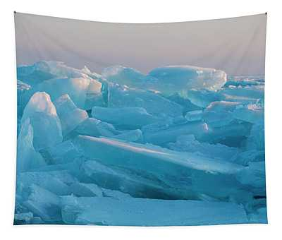 Mackinaw City Ice Formations 2161807 Tapestry