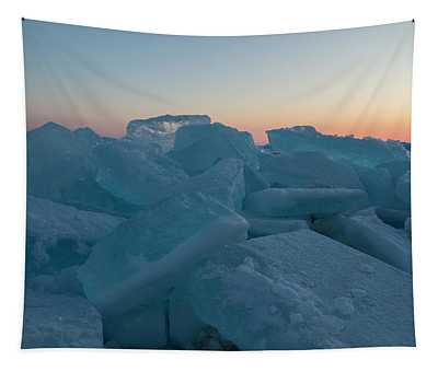 Mackinaw City Ice Formations 2161808 Tapestry