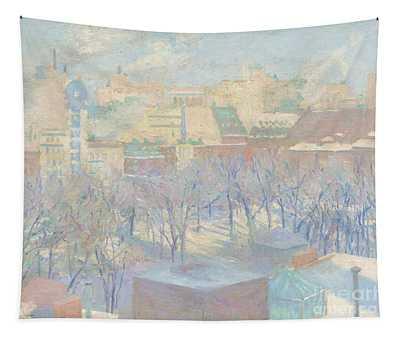 Madison Square, Snow, 1904  Tapestry