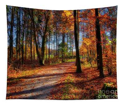 Magic Of The Forest Tapestry