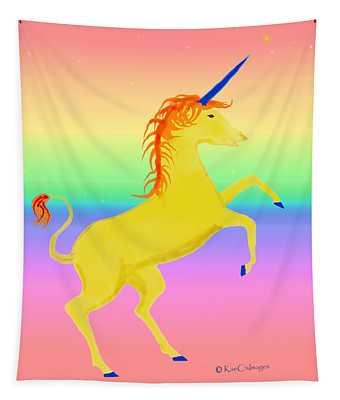 Magical Beast Unicorn 1 Tapestry