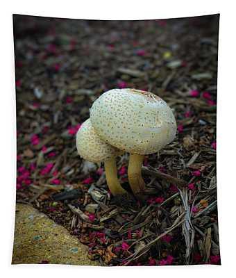 Magical Mushrooms Tapestry