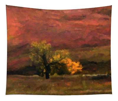 Magnificent Autumn Colors Tapestry