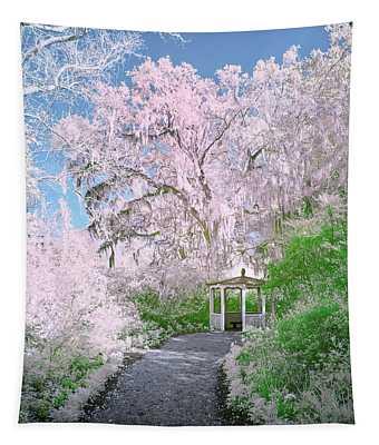 Magnolia Gazebo  Tapestry