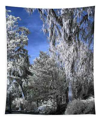 Magnolia Plantation In Grey Tapestry