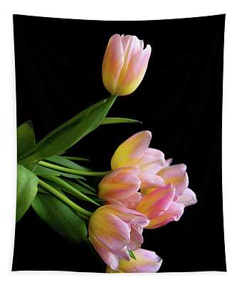 Majestic Tulip Bouquet Tapestry