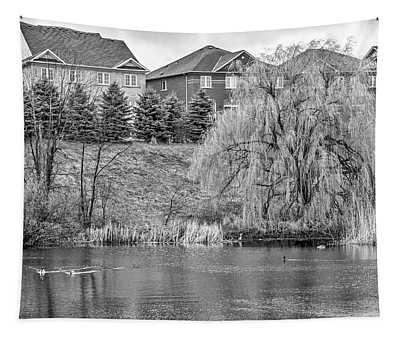 Major Oak Park Bw Tapestry