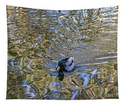 Mallard Fantail Tapestry