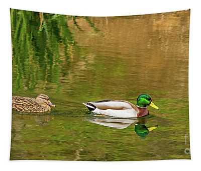 Mallard Pair II Tapestry