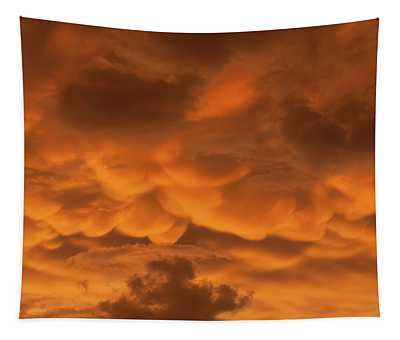 Mammatus Clouds Tapestry