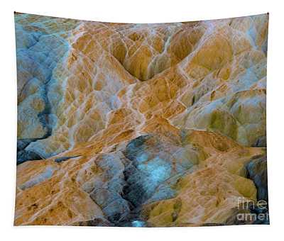 Tapestry featuring the photograph Mammoth Hot Springs by Mae Wertz