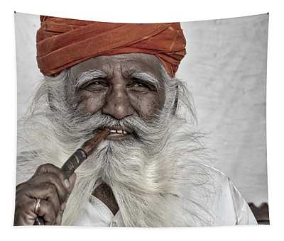 Man Of Wisdom Tapestry