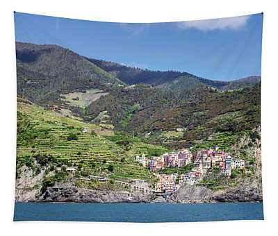 Manarola Cinque Terre Italy Tapestry