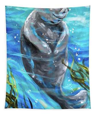 Manatee Uno Tapestry