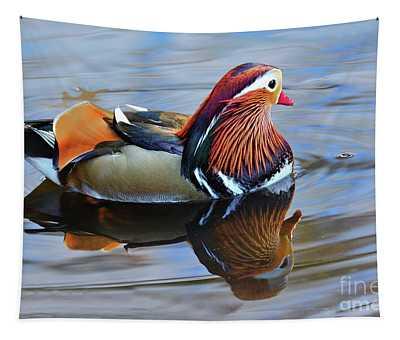 Mandarin Duck Central Park 6 Tapestry
