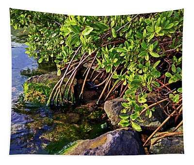 Mangrove Bath Tapestry