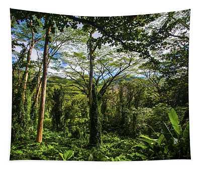 Manoa Falls Rain Forest Tapestry