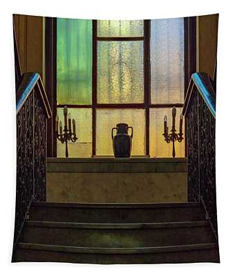 Mansion Window Tapestry