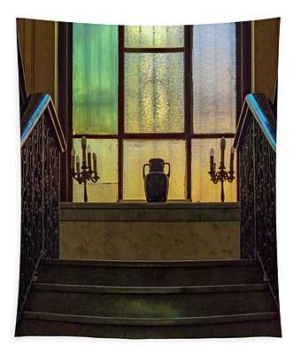 Mansion Window Tapestry