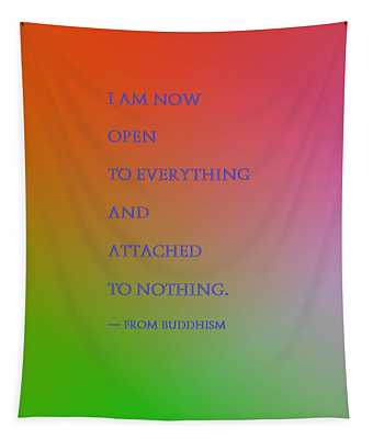 Mantra Of The Day Tapestry