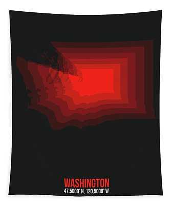 Designs Similar to Map Of Washington Red