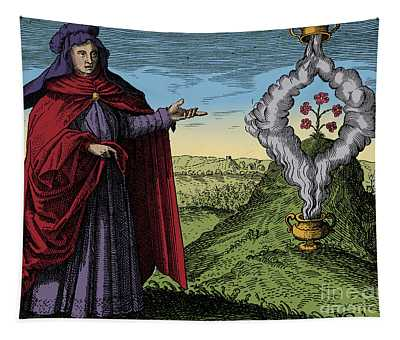 Maria The Jewess, Alchemist Tapestry