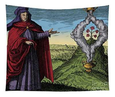 Maria The Jewess, Alchemist Tapestry