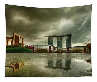 Marina Bay Sands Hotel Tapestry