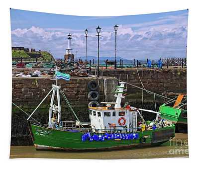 Maryport Harbour, Cumbria, England Tapestry