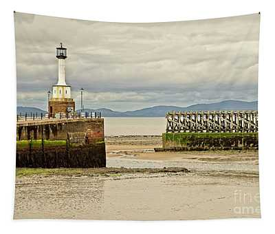 Maryport Lighthouse Cumbria Tapestry