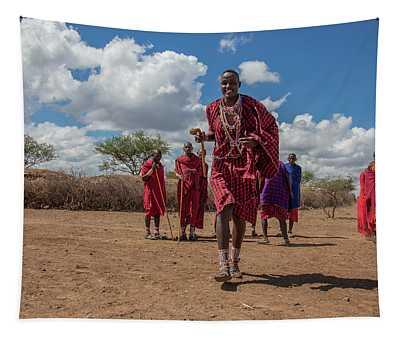 Maasai Welcome Tapestry