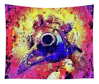 Plague Mask 2 Tapestry