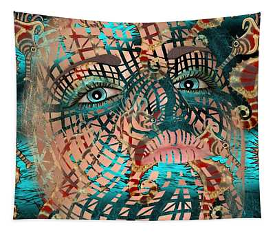 Mask Dreaming Of The Sea Tapestry