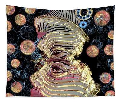 Mask My Minds Eye Tapestry