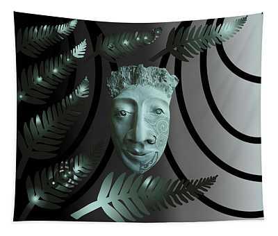 Mask The Maori Warrior Tapestry