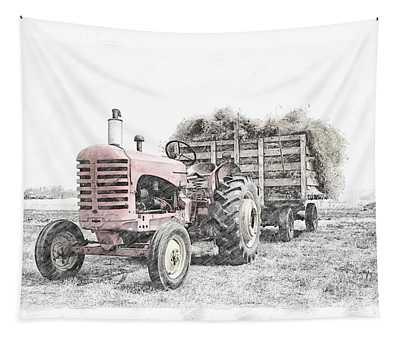 Massey Harris Tapestry