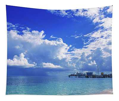 Massive Caribbean Clouds Tapestry
