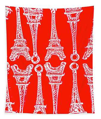 Match Made In Paris Tapestry
