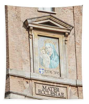 Mater Ecclesiae At Vatican  Tapestry