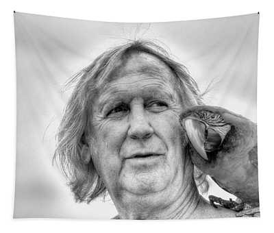 Mates In Monochrome Tapestry