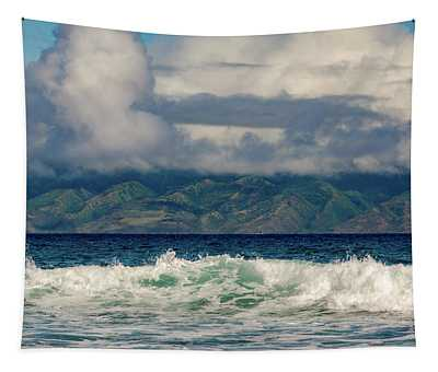 Maui Breakers II Tapestry