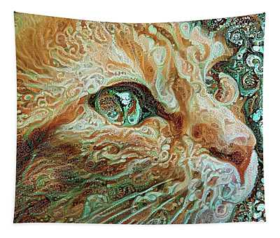 Maya The Ginger Cat Tapestry